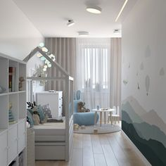 Click in the image to find more kids bedroom inspirations with Circu Magical Furniture! Be amazed with Circu Magical furniture and their luxury design: CIRCU. Toddler And Baby Room, Toddler Playroom, Toddler Rooms, Baby Boy Rooms, Playroom Ideas, Kids Bedroom Designs, Baby Room Design, Boy Decor, Baby Room Decor