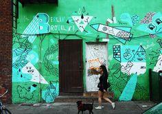 Klub7 on Brooklyn Street art