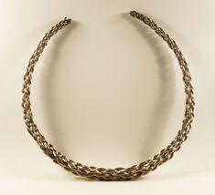 Viking neck ring from Linköping, Sweden