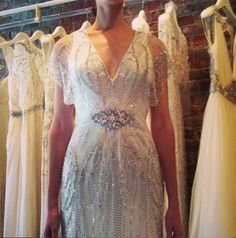 Jenny Packham Bridal Spring 2014 -  Gorgeous Gatsby inspired Gown! @ cpbride.com/blog