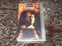 Playroom (VHS, 1990) Rare OOP Republic/Christopher McDonald Horror! *NOT ON DVD*