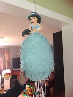 Disney Princess Piñata Jasmine Aladdin by BobbiGirlBoutique Jasmin Party, Princess Jasmine Party, Disney Princess Party, Princess Theme, Princess Birthday, Aladdin Birthday Party, Aladdin Party, 4th Birthday Parties, Aladdin Cake