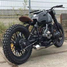 Death Star BMW custom from erickalter Perfect Nearly sold out of our last collection of handcrafted leathergoods over at Bmw Scrambler, Street Scrambler, Blitz Motorcycles, Cool Motorcycles, Vintage Motorcycles, Bmw Cafe Racer, Cafe Racer Motorcycle, Motorcycle Gear, Bmw R100