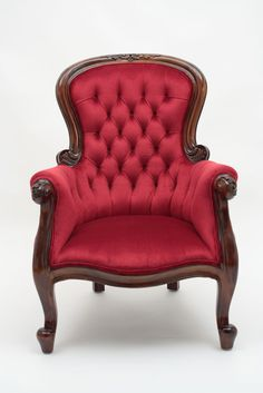Astonishing Upholstery Fabric Birds Ideas – Lessons – Learning 3 Unbelievable Tips: Upholstery Trends Bedrooms upholstery stool seat covers.Upholstery Sewing How To Make upholstery sewing how to make. Living Room Upholstery, Upholstery Trim, Upholstery Cushions, Furniture Upholstery, Upholstery Cleaning, Victorian Chair, Victorian Furniture, Victorian Decor, Victorian Era