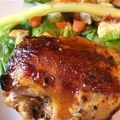 Balsamic marinated chicken @ http://allrecipes.com.au