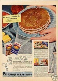 Pillsbury's Pancake Mix (1942)