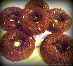Cut the Wheat, Ditch the Sugar: Chocolate Donuts: Grain Free and Gluten Free