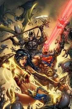 Arte Dc Comics, Dc Comics Superheroes, Dc Comics Characters, Flash Characters, Dc Heroes, Comic Book Heroes, Comic Books Art, Comic Art, Dc Trinity