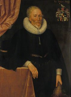 """""""Richard Tomlins"""", Marcus Gheeraerts the younger, 1628; University of Oxford LP 114"""