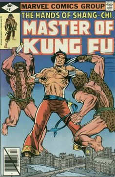 Master of Kung Fu # 81 by Mike Zeck & Gene Day