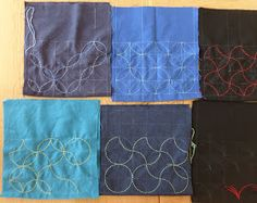 We had a really nice day on Saturday. In the daytime, I taught at Aberdeen Quilters and they made the sashiko kinchaku bag panels. Lots...