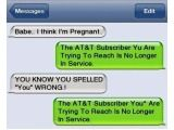 There's nothing worse than receiving a Breakup Text! Ouch. someone gets slaughtered on Slide 4!