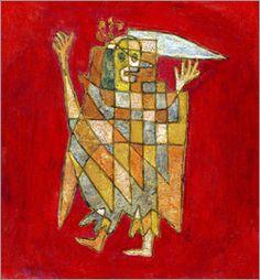 Paul Klee - Allegorical Figure, 1927