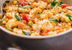Pasta Salad, Risotto, Chicken Recipes, Lose Weight, Nap, Ethnic Recipes, Food, Diet, Crab Pasta Salad
