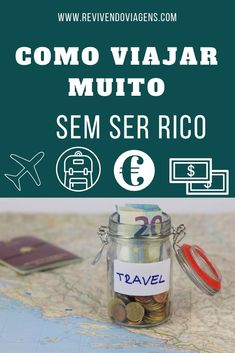 Dicas para viajar muito, de forma econômica e sem ter muito dinheiro. #viagem #dicasdeviagem Travel Around The World, Around The Worlds, Au Pair, Travelling Tips, Eurotrip, What A Wonderful World, Travel And Tourism, Future Travel, Travel List