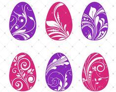Easter SVG Easter Egg SVG Egg monogram Frames svg Easter