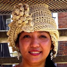 LAUREN Crochet Cloche Hat #crochet