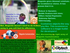 Is on your plan creating an all-new Online store or renovation of your current store? Want a store exactly tailor-made to your taste and requirements? Then, look no further beyond the Magento customization services of www.Citytechcorp.com. If you want your store to be better functionable, install two crucial Magento Ecommerce plugins- check out them here on www.addonworks.com and give your valuable feedback.