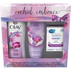 Olay Orchid Embrace Holiday Gift Set, 3 pc