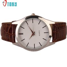 1.27$  Buy now - http://aligqx.shopchina.info/go.php?t=32782413393 - OTOKY Quartz-watch Hot Unique Women's Watches Female Fashion Leather Strap Gift Rose Gold Case Ladies Wrist watch Drop ship F35  #magazineonlinewebsite