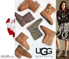 El regalo perfecto para ella, unas botas #ugg elegancia y confort #melopido  ¡No esperes más! Haz tu pedido antes de las 17.00 h y te llegará el lunes Emoticono wink https://www.zacaris.com/ugg.htm