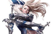ArtStation - Blue Sword-dancer., Erak note