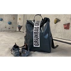 9bb91a8c83ad3 grünBAG in the climbing gym  climbing lovers  lowwasteliving  backpack   sustainableliving