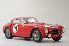 Platz 12: 1953er Ferrari 340/375 MM Berlinetta Competizione. Versteigert am 25. Mai 2013. Höchstgebot: 12,81 Millionen US-Dollar. Heutiger Wert des Gebots: rund 13 Millionen Dollar. Einzelstück. Prominenter Fahrer und Besitzer: Mike Hawthorn (F1-Weltmeister 1958).
