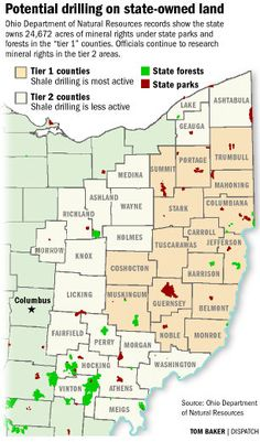 Potential Drilling on OH State Land