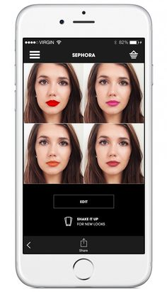 Beauty News: Sephora app now allows you to try on thousands of lip colors
