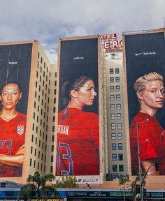 Usa Soccer Team, Female Soccer Players, Team Usa, Nike Soccer, Soccer Cleats, Megan Rapinoe, Soccer Drills, Soccer Tips, Soccer Goals