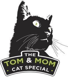 Tom & Mom cat logo