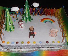 kids parties#cake design#rudolph reindeer#festas crianças#rena rodolfo