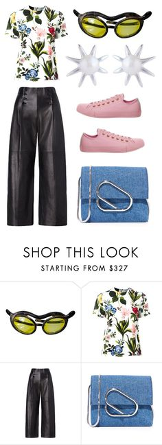 """floral"" by annikaburman ❤ liked on Polyvore featuring VIVETTA, Ralph Lauren, 3.1 Phillip Lim, Converse, men's fashion and menswear"