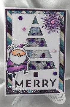 JenniferD's Blog: Christmas Shaker Card Tutorial