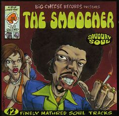 Various Artists - The Smoocher. Excellent French compilation of 70s Soul.