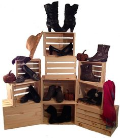 Image result for shoe retail display ideas