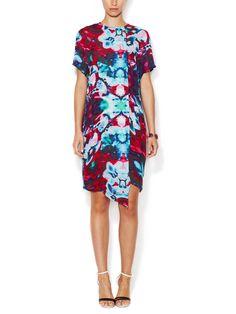 Silk Asymmetrical Shift Dress by Juma at Gilt