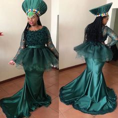 African Fashion Skirts, South African Fashion, African Fashion Designers, African Traditional Wear, Traditional Design, Traditional Dresses, Zulu Wedding, African Wedding Attire, Couture Wedding Gowns