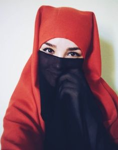 Arab Girls Hijab, Girl Hijab, Muslim Girls, Hijab Niqab, Muslim Hijab, Beautiful Muslim Women, Beautiful Hijab, Niqab Fashion, Face Veil