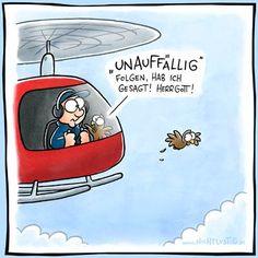 «Unauffällig» Herrgott! | #fun #nichtlustig #herrgott #comics