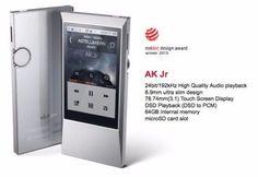 IRIVER Astell & Kern AK Jr Hi-Resolution Music MP3 Player 64GB Wi-Fi #iRiver