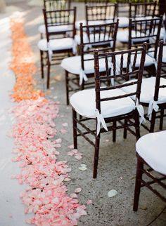multi-colored petal aisle  Photography by ktmerry.com, Event   Floral Design by karlaevents.com/