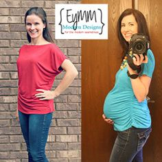 Kymy's Dolman Top & Tunic (Women's XS-5X & Maternity) | Sewing Pattern | YouCanMakeThis.com