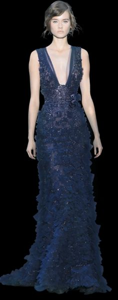 midnight stunner...Elie Saab...OMG UNREAL I WANT beautiful!