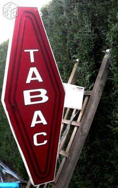 Carotte Tabac, Enseigne, Vintage, Néon, Déco, Lumi