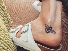 Bee Tattoo Meaning Beautiful - Luxury Bee Tattoo Meaning Beautiful, 85 Beautiful Bee Tattoos Ideas