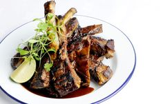 Barbecued sticky ribs - Josh Eggleton