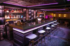 Causette cocktails bar - Geneva - www.enplace.fr - Station cocktail - Mise en place - Agencement bar