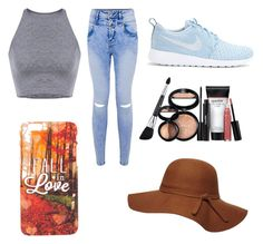 """""""Untitled #2"""" by sbiggs-i on Polyvore featuring NIKE, Dorothy Perkins and Laura Geller"""